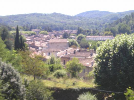 vue des toits  de Lasalle