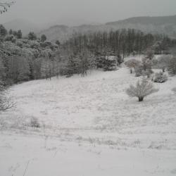 l' hiver dans les Cevennes
